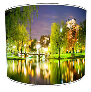 City Of Boston Lampshades To Match Bedding Duvets Curtains Cushion Covers