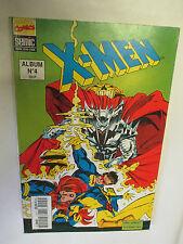 Album X-Men Numéro 4 (Contient les numéros 7 et 8) /Semic Marvel Comics