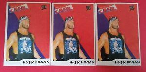 HULK HOGAN 3X ERSA SMACKDOWN SERIES WWE, WWF,RAW,UNDERTAKER JOHN CENA