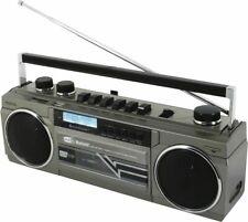 Soundmaster SRR70TI Retro Kassettenrecorder USB SD Bluetooth DAB Radio
