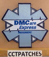 DMCARE EXPRESS PARAMEDIC MICHIGAN AMBULANCE EMS EMT PATCH MI