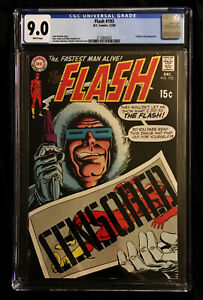 1969 DC Flash #193 CGC 9.0  White Pages