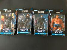 Hasbro Marvel Legends Fantastic Four Lot Brand New Sealed