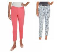 NEW Mario Serrani Comfort Stretch Slim Fit Pants w/ Tummy Control - VARIETY