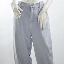 Democracy Women/'s Cropped Seamed Pants Blue NWT