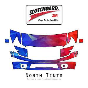 PreCut 3M Scotchgard Paint Film Clear Bra for Nissan Titan PRO-4X Platinum 2017