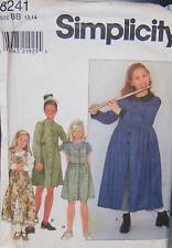 Simplicity 8241 Girls' Dress, Jumper & Petticoat Pattern 12-14