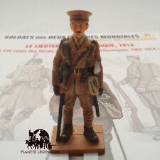 Figurine Del Prado soldat plomb Lieutenant Britannique 1914 DELPRADO