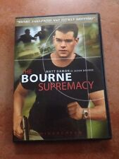 ☀️ The Bourne Supremacy DVD WS Matt Damon Eng Spanish French Audio MINT R1