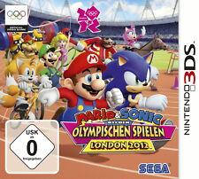 Mario & Sonic bei den Olympischen Spielen: London 2012 (Nintendo 3DS) NEUWARE