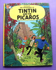TINTIN HERGE TINTIN AND THE PICAROS METHUEN 1ERE EDITION EN ANGLAIS BON ETAT