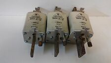 LOT OF (3) NEW OLD STOCK! JEAN MULLER 400A 500V FUSE-LINKS 400A-GL-GI