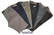 Pantaloni uomo cotone caldo elasticizzato taglia 46 48 50 52 54 56 58 60 62