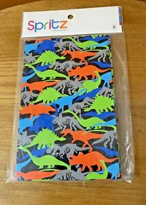 Spritz Dinosaur  Happy Birthday  Favor Bags Treat Bag 8 Count New old stock