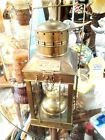 "Antique Brass Great Britain Cargo Light #3954 1939 18"" tall x 9""w"