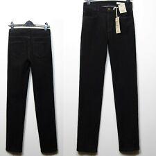 M&S Mid Rise & STRAIGHT LEG Denim JEANS ~ Size 18 Short ~ BLACK
