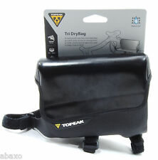 Topeak Tri DryBag Top Tube Bicycle Bag Waterproof Black
