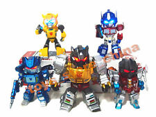 Set 5 G1 Transformers TF01 Led Eyes Light Toy Figure Doll Bumblebee New In Box