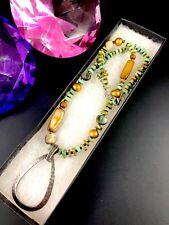 Nib Silpada Collar Plata de Ley 925 Turquesa Concha de Abulón Moderno Colgante