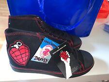 Green Day Heart Grenade High Top Sneakers Draven (US Size 7) Punk Rock Vegan New