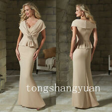 Elegant Lace Mother Of The Bride Dresses Wedding Formal Evening Gowns Custom New