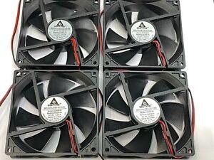 4 x Fan 5V 0.2A Computer PC CPU Case  9225 92mm 92x92x25mm 2pin  DC  G13