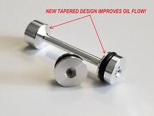 LS Billet Barbell & Front Galley Plug LS1 LS2 LS3 ls7 L92 LQ4 LQ9 5.3 LSX more!