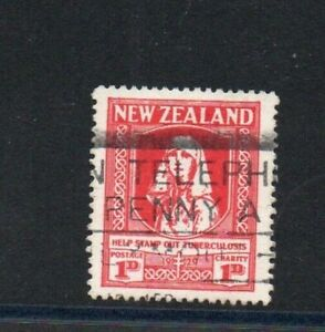 A very nice 1d New Zealand Tuberculosis 1929 issue