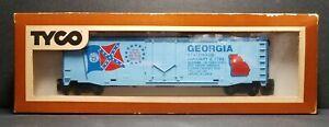 c1970s TYCO HO Scale State Of The Union Commemorative Box Car GEORGIA 363D w/BOX