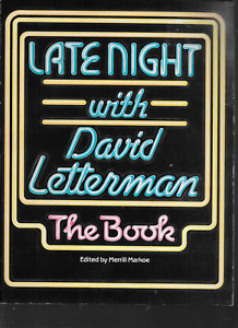 Late Night with David Letterman by David Letterman (1985, Paperback) 1st Edition
