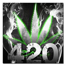 Marijuana Bumper Sticker #04 Decal Vinyl Weed Bud 420 smoke Hash Dabs