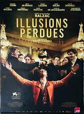 Affiche Cinéma ILLUSIONS PERDUES 120x160cm Poster ROULÉ Xavier Dolan / Depardieu