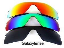 Galaxy Replacement Lenses for Oakley Radar Path Black&Green&Red Polarized 3Pair