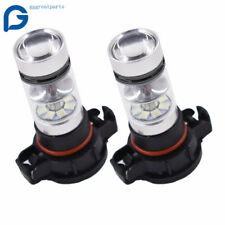 NEW 2* H16 5202 PS24WFF 8000K Ice Blue 100W CREE LED Fog Light Driving Bulb DRL