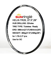"Sun Ringle Helix TR25 SL Tubeless Rim 27.5"" 29"" 32h Presta, Black"