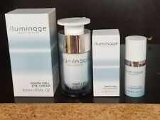 Iluminage Youth Cell Eye Cream & Youth Cell Concentrate COMBO SKIN CARE SET BOX