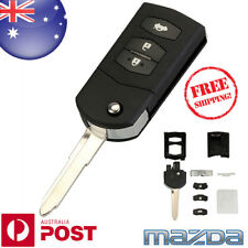 3 BUTTON Flip Key Remote Case Shell replacement for MAZDA 2 3 5 6 RX8 MX5 Z680BF