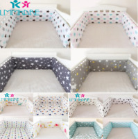 Baby Bedding Bumper set for Boy Girl  Nursery Animated Newborns Cotton bumpers