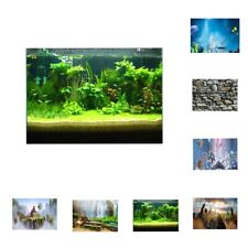 3D  High Definition Background Paper Wallpaper Decor for Aquarium Fish Tank