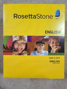 Rosetta Stone American English - Levels 1,2,3 Version 3