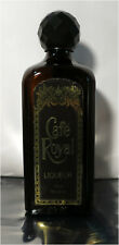 Cafe Royal Liqueur, 710ml. Empty Brown Glass Bottle w/ Lid, Meagher's Distillery