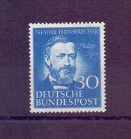 Bund 1952 - Philipp Reis - MiNr. 161 postfrisch** - Michel 55,00 € (258)