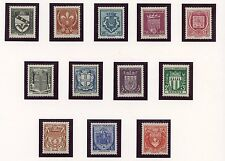 STAMP / TIMBRE FRANCE NEUF SERIE N° 526/537 ** COTE 38 € BLASON