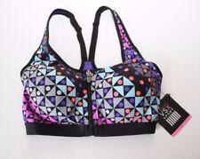 Victoria's Secret VSX Sport Knockout Front-close Bra Purple/Black 32C