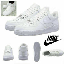 NIKE AIR FORCE 1'07 Sneaker Women Men Sports Shoes Sneakers White Leather