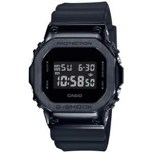 Casio G-Shock gm-5600b-1er All Black Cash Steel Digital Watch Cool