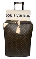 Louis Vuitton Pegase 65 Suitcase Bag w/ Name Tag Dustbag 🇫🇷 💯Authentic