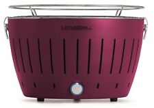 Lotusgrill Plum Purple the Smoke-Free Charcoal Grill / Table Colourful