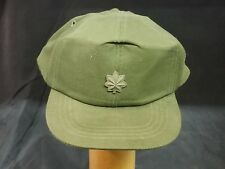Vietnam War Us Army Og-106 Hot Weather Cap with Lieutenant Colonel Device
