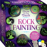 Childrens Craft Sets - Glow Rock / Pebble Painting Kit Set - Glow In The Dark